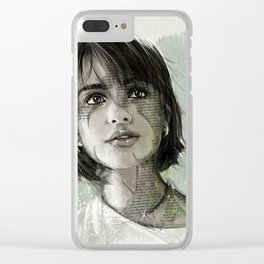 Fashion 8 Clear iPhone Case