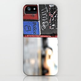 New York Fire and Police  iPhone Case