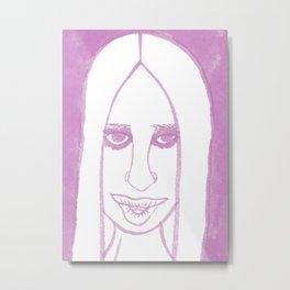 Donatella Metal Print