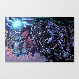 Black Panther: Wakandan Warrior Canvas Print