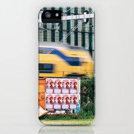 Commuter Train iPhone Case