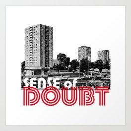 Bowie Sense of Doubt Art Print