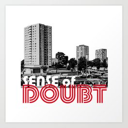 Bowie Sense of Doubt Art Print