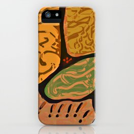 Terracotta HappyMess #society6 #buyart iPhone Case