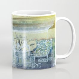 The city remembers; fruit and vegetable market Coffee Mug