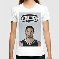 danny haas T-shirts featuring Danny Green by Will Wild