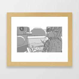 Approach Framed Art Print
