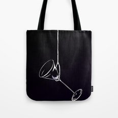 here's to drinks in the dark at the end of my rope Tote Bag
