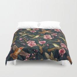 Hummingbird Pattern Duvet Cover