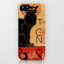 Tournée du Chat Noir de Rodolphe Salis (High Resolution) iPhone Case