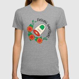 The Big Lebowski T-shirt: Fucking amateurs T-shirt