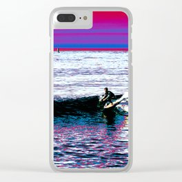 COLOR RIDE Clear iPhone Case