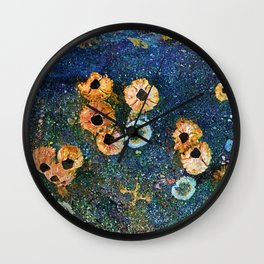 Abstract beautiful barnacles Wall Clock