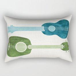Ukulele Duo Rectangular Pillow