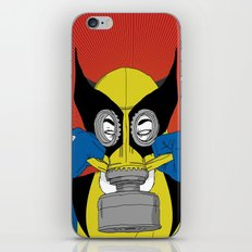 Wolverine Gas Mask iPhone & iPod Skin