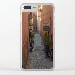 To the Riad (Marrakech) Clear iPhone Case