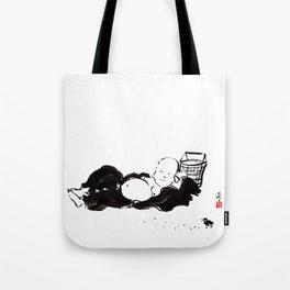 Budai the Monk- Nap Time Tote Bag