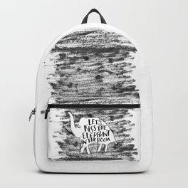 Kiss the Elephant Backpack