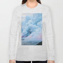 Pastel volcano smoke Long Sleeve T-shirt