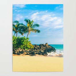 Paako Beach Makena Maui Hawaii Poster
