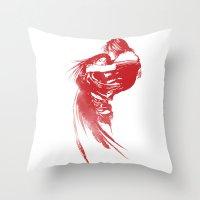 final fantasy Throw Pillows featuring FINAL FANTASY VIII  by DrakenStuff+