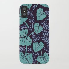 Midnight Bayou Slim Case iPhone X