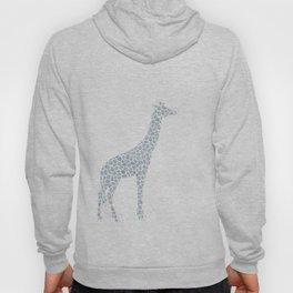 Chambray giraffe Hoody