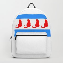 Chicago Cat Backpack