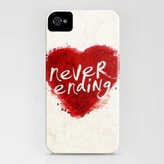 never ending love iPhone (4, 4s) Slim Case
