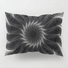 Gray Kaleidoscope Art 5 Pillow Sham
