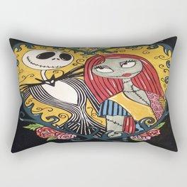 Jack Skellington and Sally 2 Rectangular Pillow