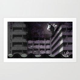 Pegasus + Passageway Art Print