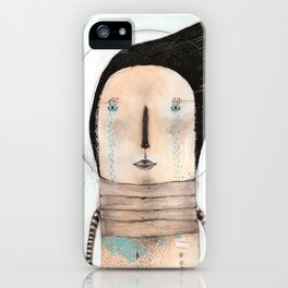 Letting go doesn't mean giving up... it means moving on.  iPhone Case