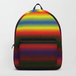 Abstract Colorful striped background Backpack