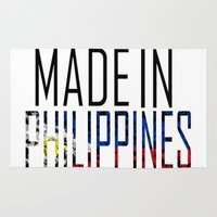 philippines Area & Throw Rugs featuring Made In Philippines by VirgoSpice
