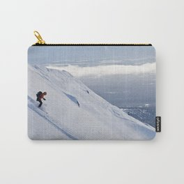 Skiers at Hatcher Pass (2) Carry-All Pouch