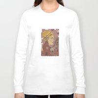 bath Long Sleeve T-shirts featuring Swing bath by Judit Canela