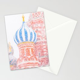 Russian Winter Stationery Cards