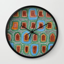 Special Places in a Row Wall Clock