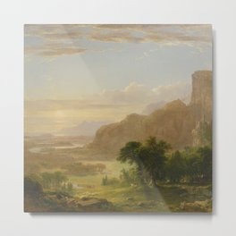 Landscape In Italy Metal Print