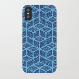 Kenna (Blue) iPhone Case