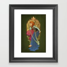 For the First Time in Forever Framed Art Print