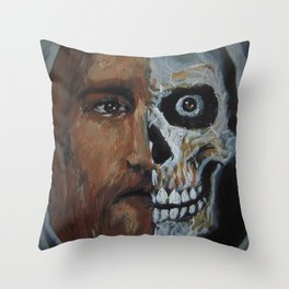 Life or death, chose this day life. Throw Pillow