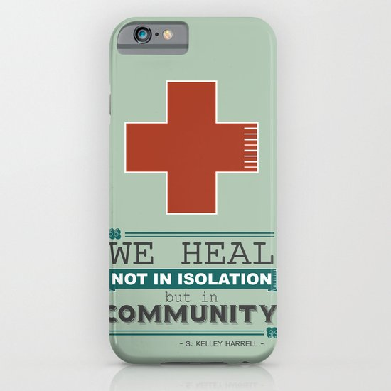 Healing in Community iPhone & iPod Case
