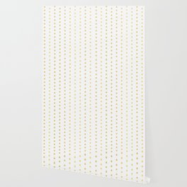Luxe Gold Tiny Christmas Stars Confetti, Drawn Seamless Vector Pattern Wallpaper