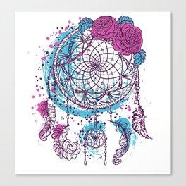 atrapasueños pink Canvas Print