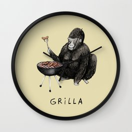 Grilla Wall Clock