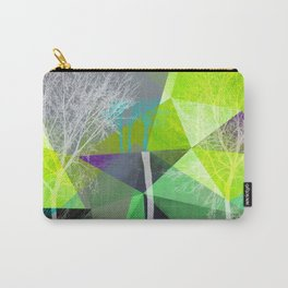 P18 Trees and Triangles Carry-All Pouch
