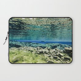 Straddling Continents Laptop Sleeve
