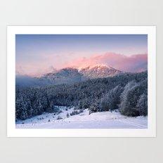 Mountain II Art Print